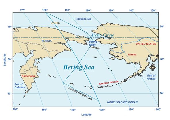 Bering Sea: Russia ? United States Dispute